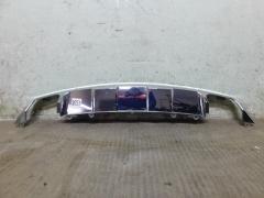 Хром заднего бампера Mercedes GLK X204 2011-