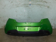 Бампер задний Mazda 2 DE 2007-