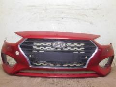 Бампер передний Hyundai Solaris 2017-